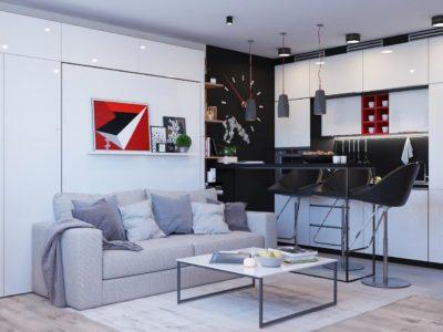 Квартира - студия 28 кв.м